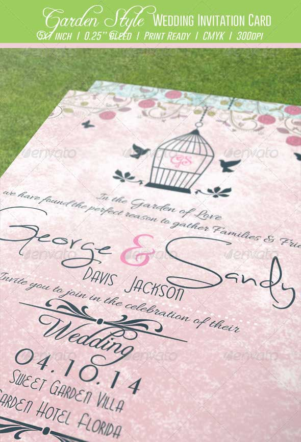 Garden-Style-Wedding-Invitation-Card