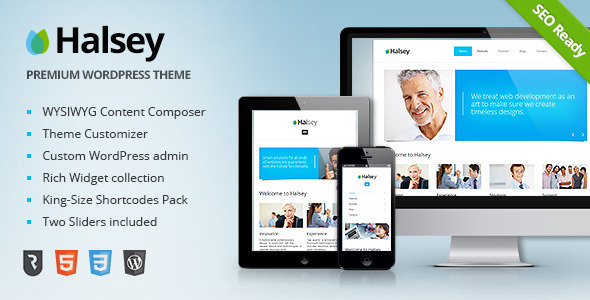 Halsey - Ultimate Business WordPress Theme