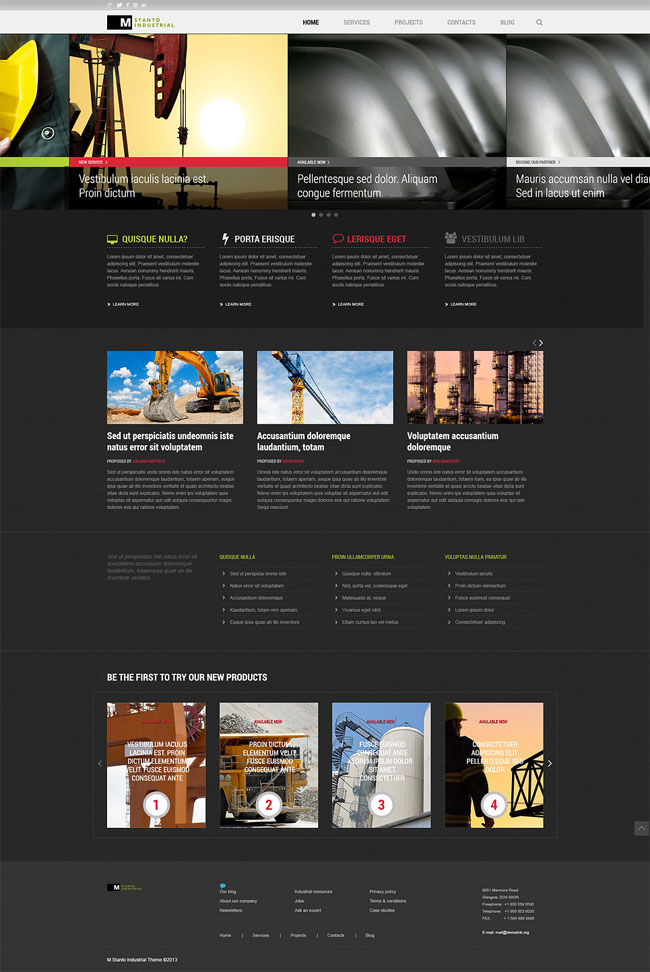 Industrial-Company-Joomla-Template