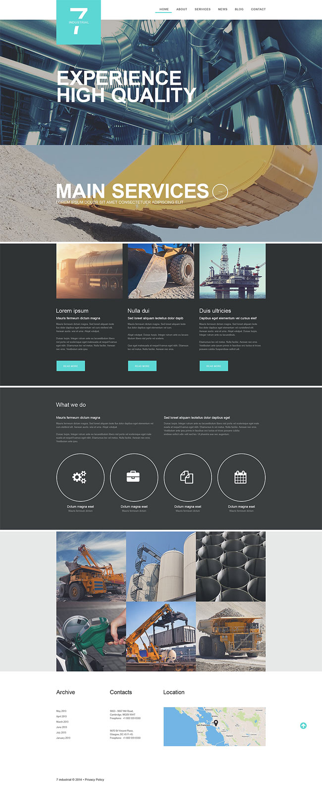 Industrial-Muse-Template