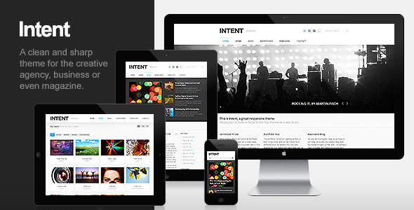 Intent - Business & Portfolio WordPress Theme