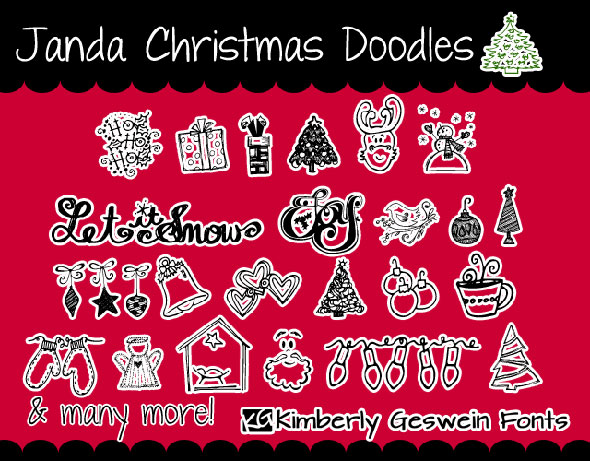 Janda-Christmas-Doodles-font
