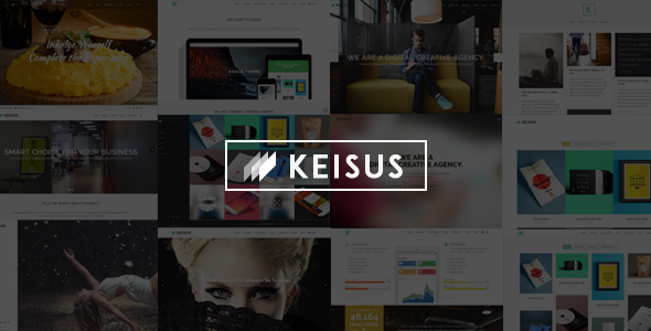 Keisus - Responsive Multi-Purpose WordPress Theme