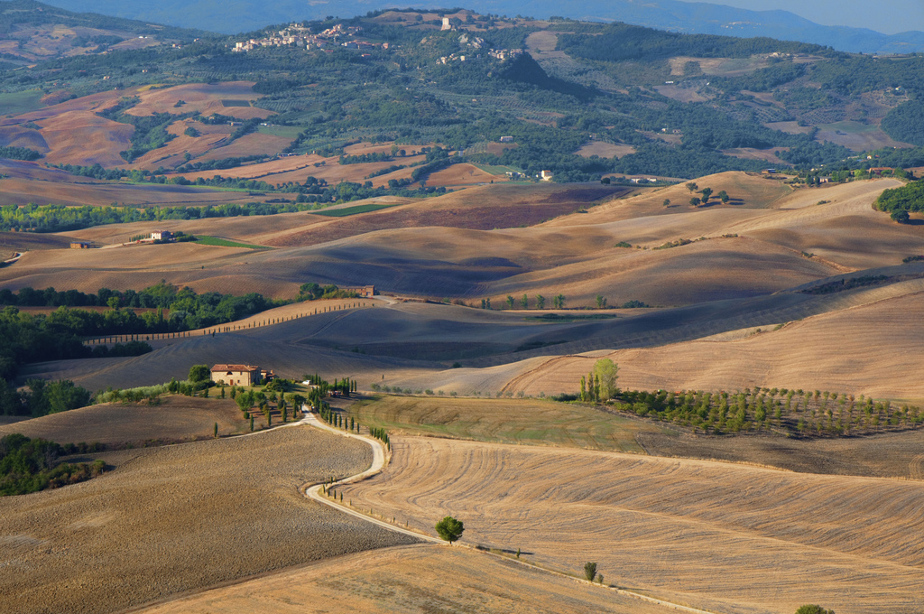 Landscape from Pienza