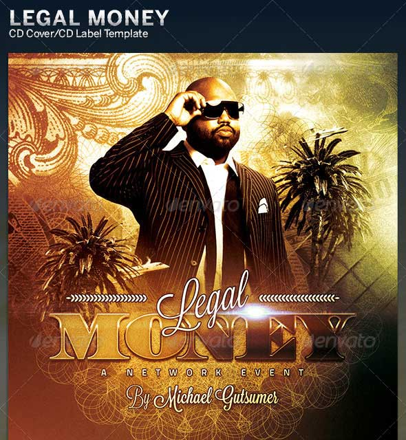 Legal-Money-CD-Cover-Artwork-Template
