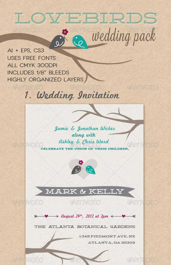 Lovebirds-Wedding-Pack