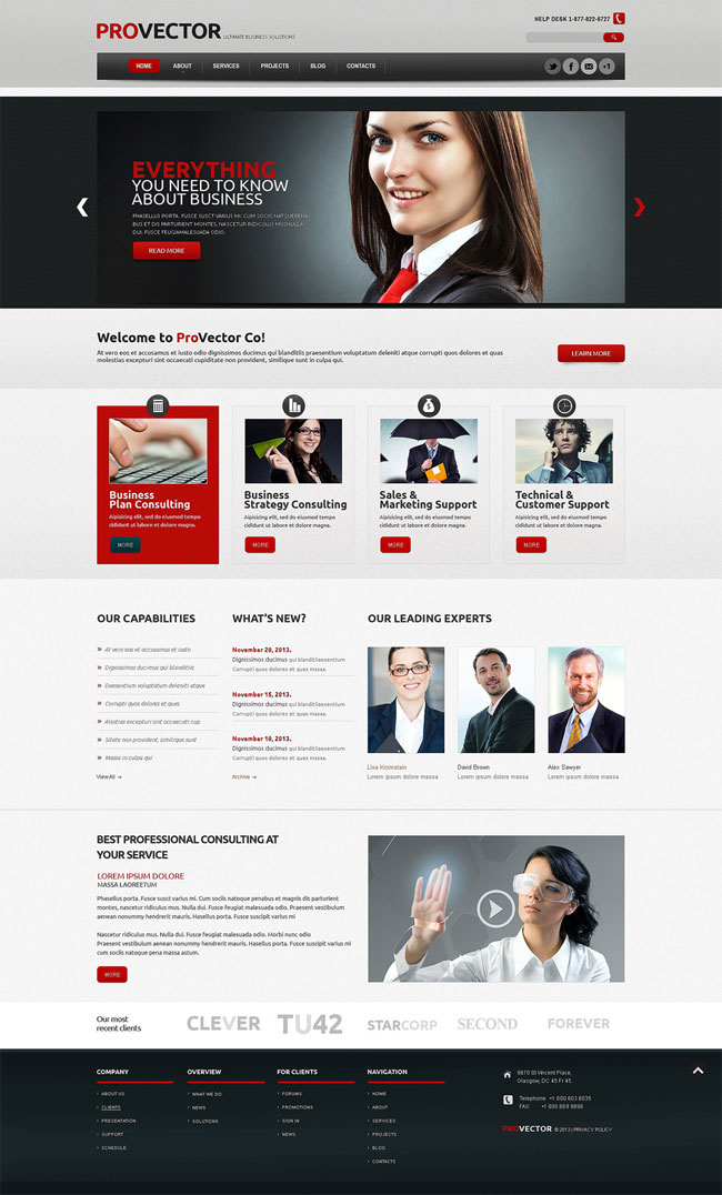 PROVECTOR-Financial-Advisor-WordPress-Theme