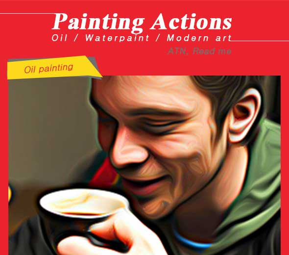 Painting-Actions-7-Oil-Waterpaint-Modern-Art