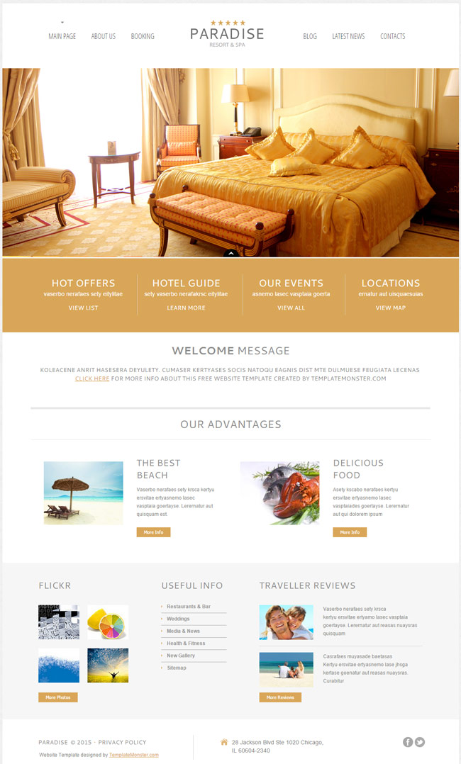 Paradise-Free-WordPress-Theme-for-Hotel