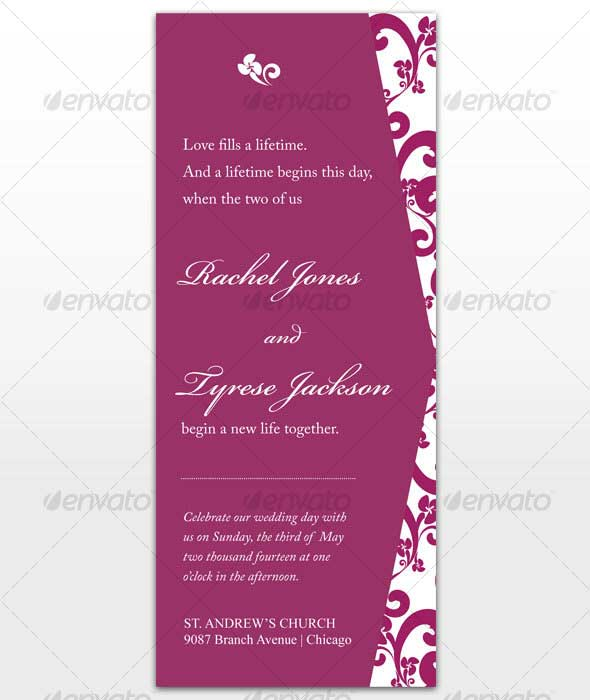 Passion-Wedding-Card