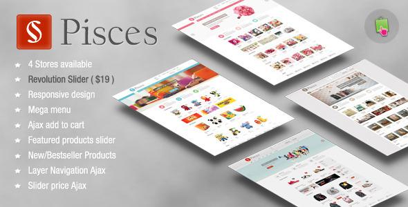 Pisces - Multipurpose Responsive Prestashop Theme