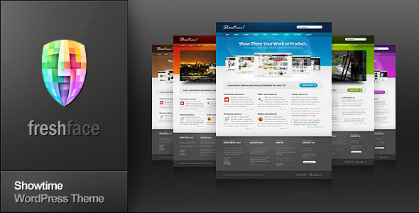Showtime - Business and Portfolio WordPress Theme