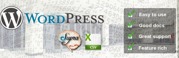 Supra-CSV-WordPress-Plugin