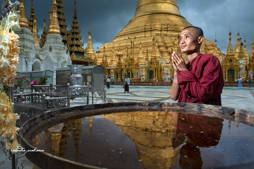 The Legend of Shwedagon Pagoda