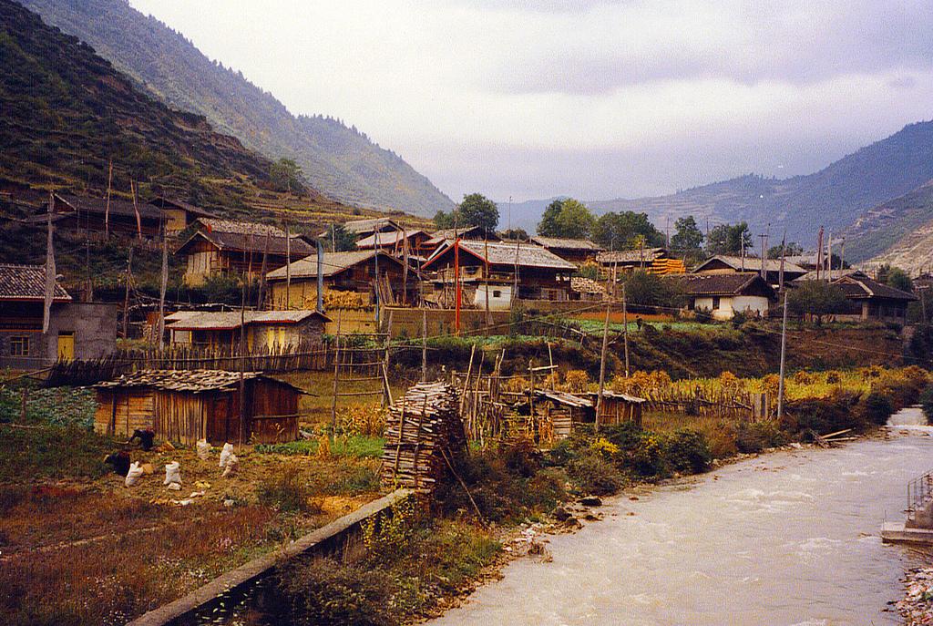 Tibetan Village Jiuzhaigou