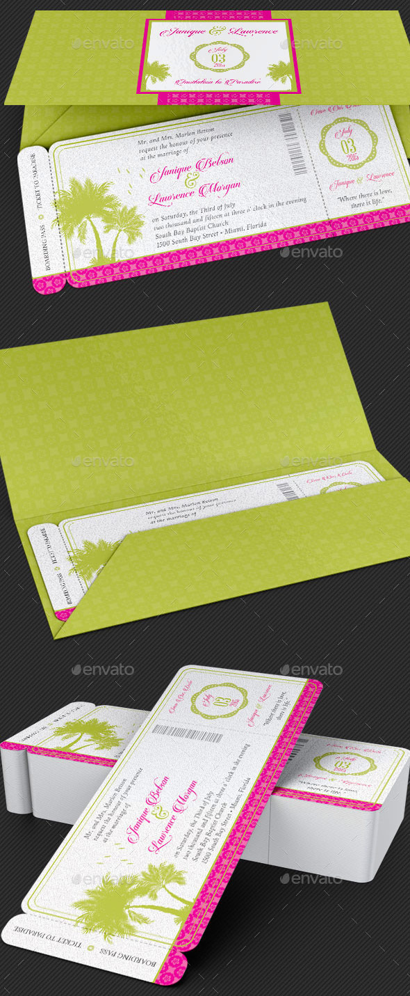 Tropical-Wedding-Stationery-Template-Set