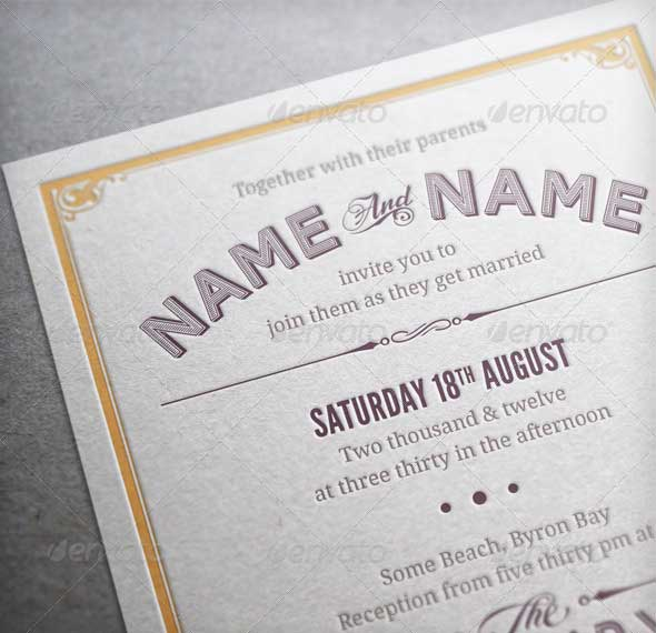 Vintage-Wedding-Invitation-&-RSVP