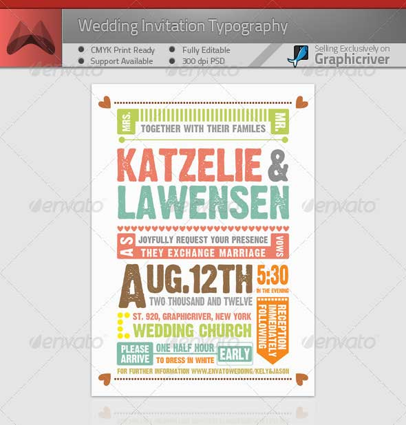 Wedding-Invitation-Typography