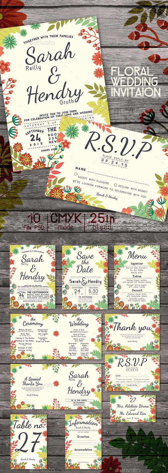 Wedding-Package-Floral-PSD-Theme