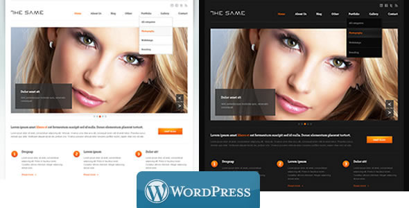 WordPress Business TheSame Template