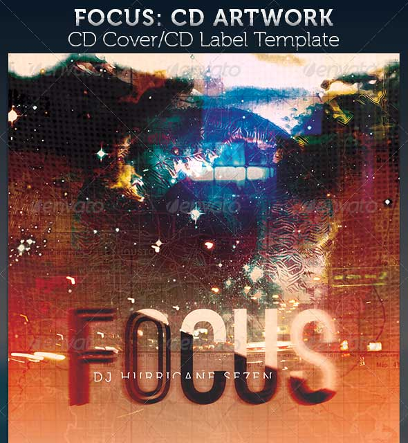 focus-cd-cover-artwork-template