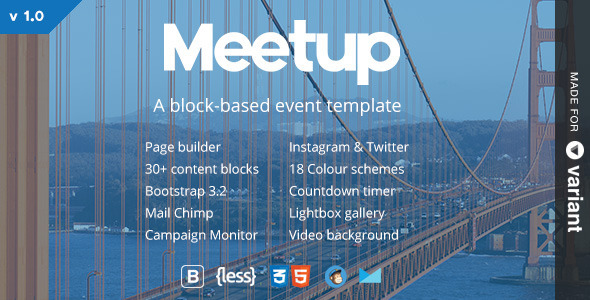meetup-conference-event-landing-page-with-page-builder