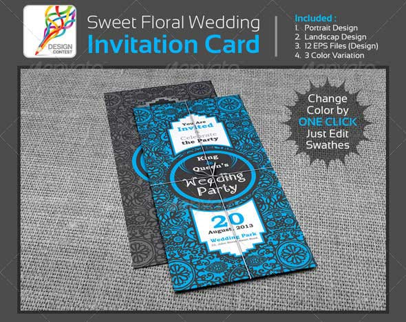 sweet-floral-wedding-engagement-party-invitation