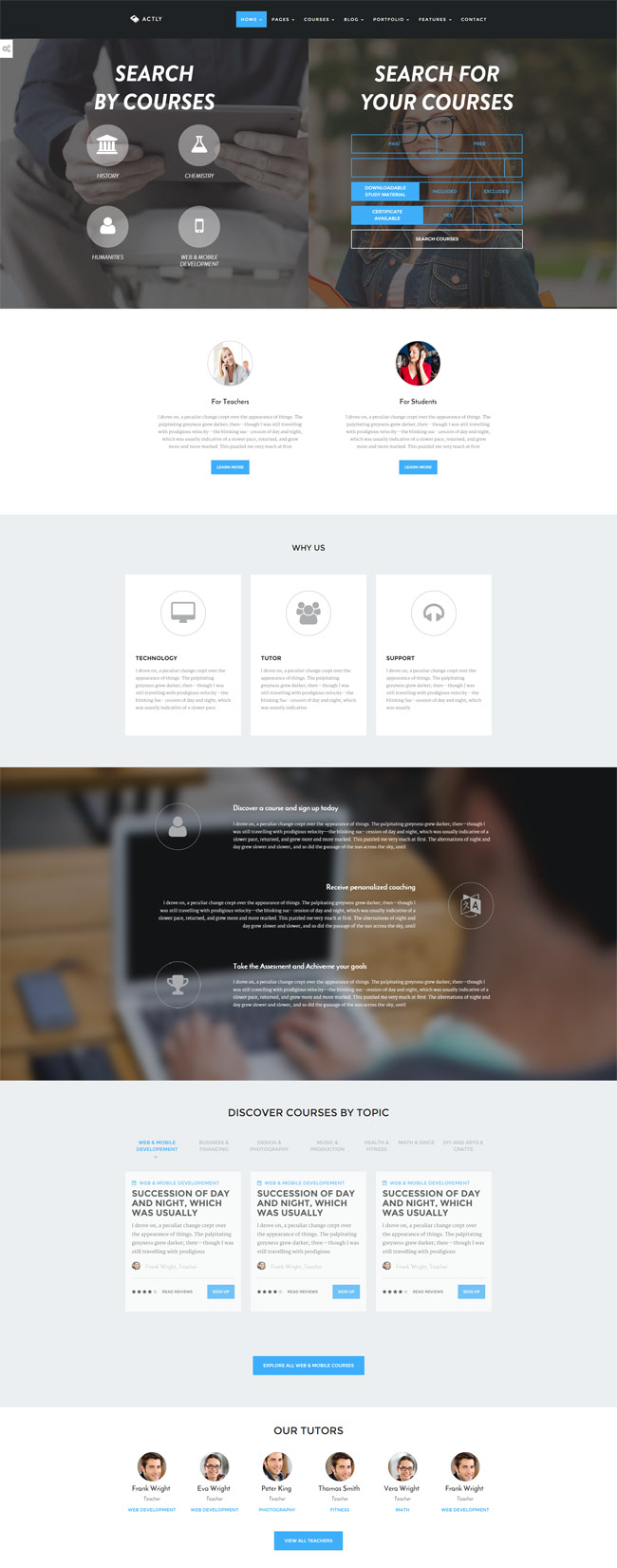 Actly-Educational-Responsive-HTML-Template