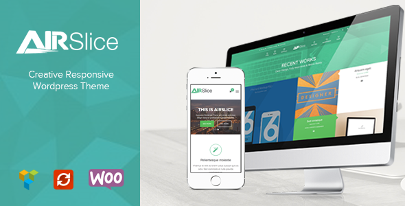 AirSlice - Creative Responsive WordPress Theme