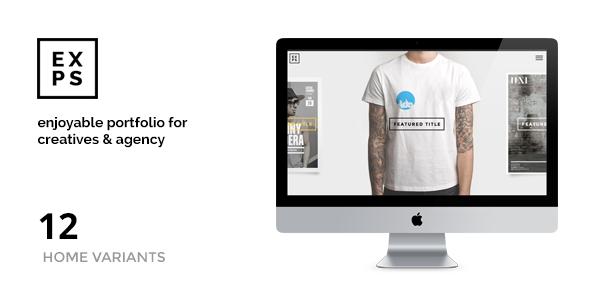 EXPOSE - Creatives & Agency WordPress Theme