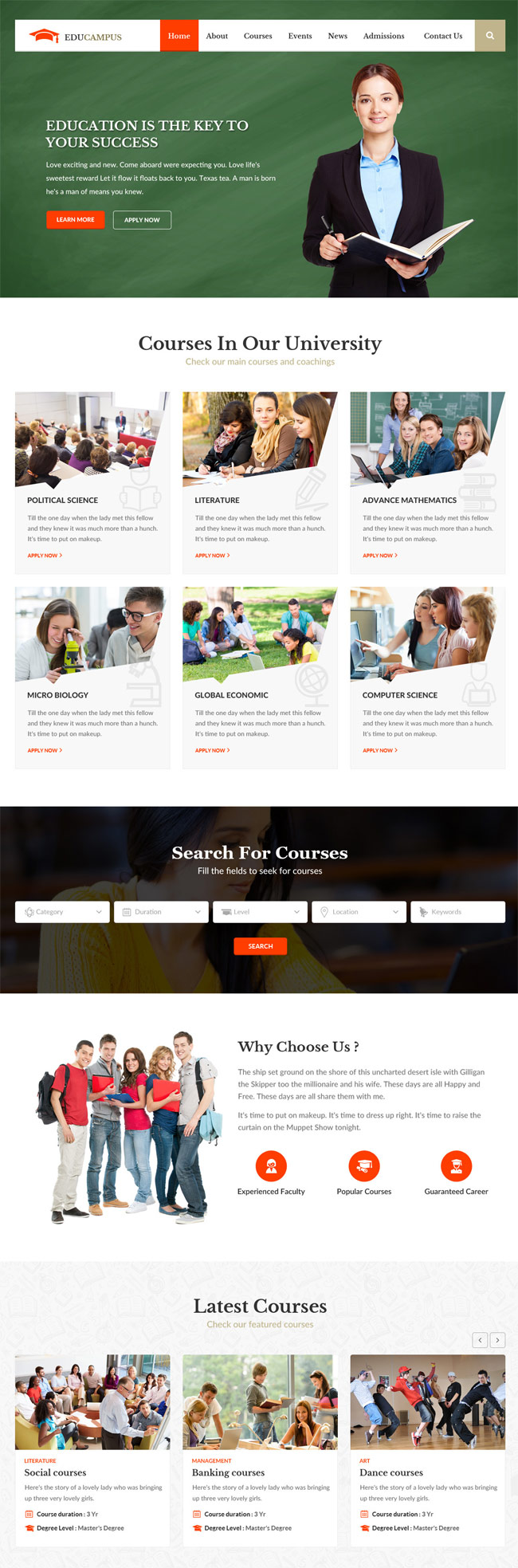 Educampus-Education-University-HTML-Template