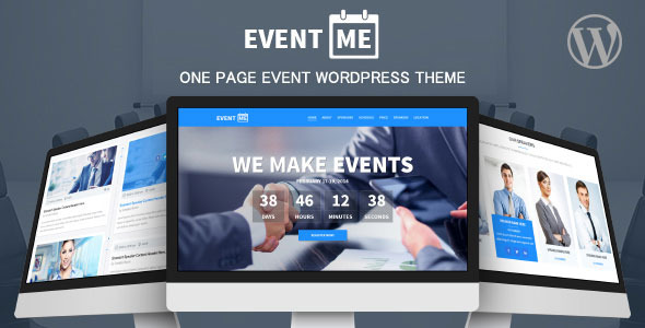 EventMe - Event Landing Wordpress Theme
