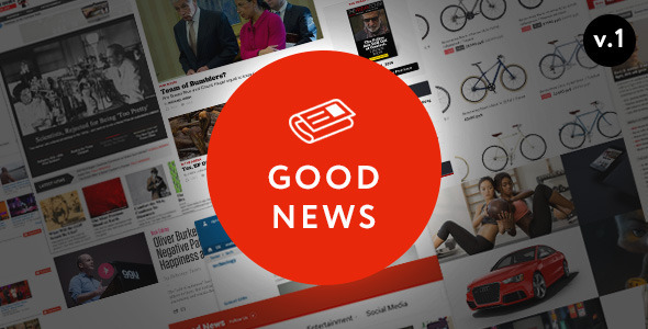Good News - Multi-Niche Blog-Magazine WordPress Theme