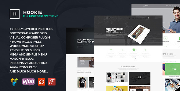Hookie - Agency & Business WordPress Theme