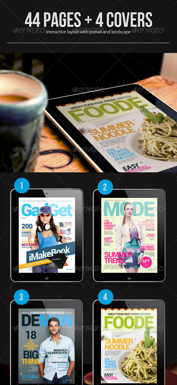 Interactive-Magazine-Template