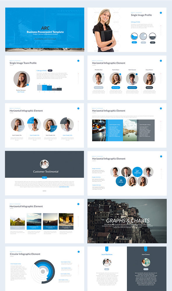 35 amazing powerpoint templates 2017 designmaz keynote business powerpoint template wajeb Images