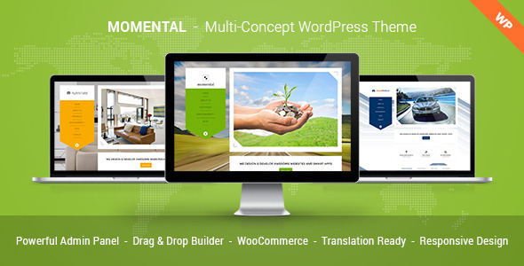 Momental - Multi Concept WordPress Theme