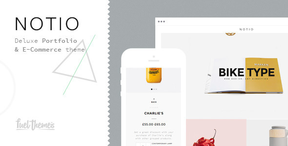 Notio - Deluxe Portfolio Theme