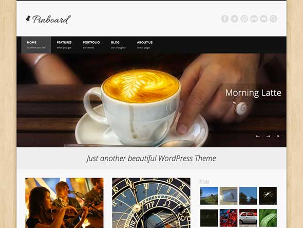 Pinboard-Free-Video-WordPress-Themes