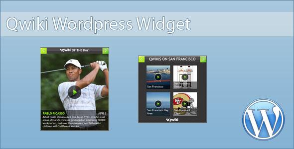 Qwiki Widget Plugin