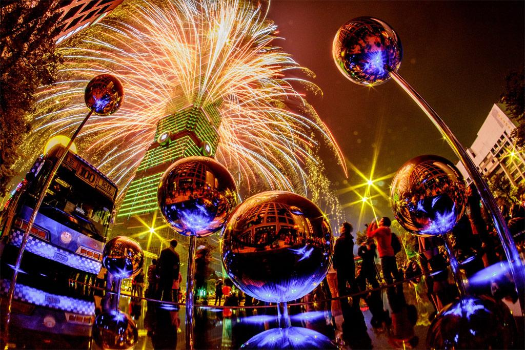 Taipei-Fireworks