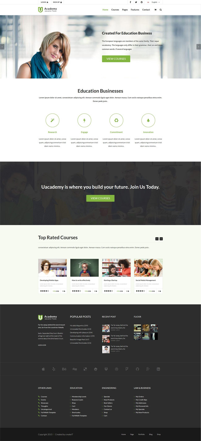 Uacademy-Learning-System-HTML-Template