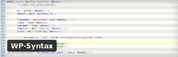WP-Syntax-WordPress-Plugin