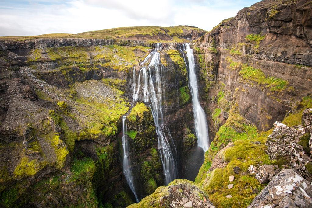 Waterfall-Glymur