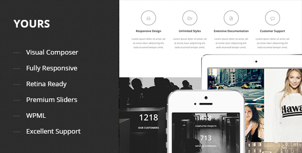 Yours - Responsive Onepage WordPress Theme