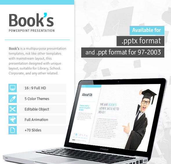 books-powerpoint-template