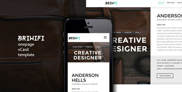 briwfi-onepage-wordpress-resumeportfolio-theme