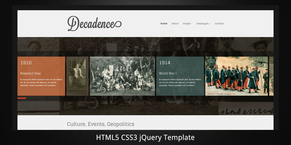 decadence-minimal-html5-light-mobile-version