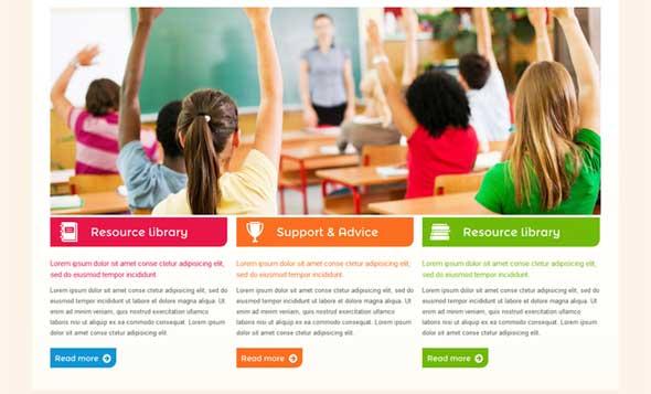 35+ Best Responsive Education HTML Templates 2016