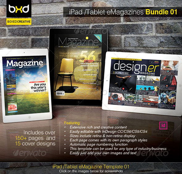 iPad-Tablet-eMagazine-InDesign-Bundle-V1